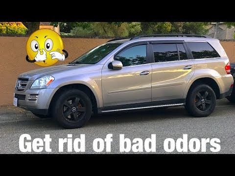 Mercedes ML GL Cabin Air Filter Change | Get rid of bad smell