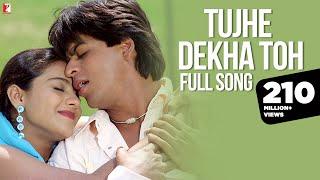 Tujhe Dekha Toh   Full Song | Dilwale Dulhania Le Jayenge | Shah Rukh Khan | Kajol