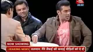 getlinkyoutube.com-Salman khan blasts on Sidhi Baat Aaj Tak Rahul K
