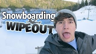 getlinkyoutube.com-Snowboarding WIPEOUT!!