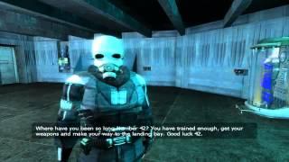getlinkyoutube.com-Half-Life 2-Combine Combat Part 1