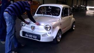 getlinkyoutube.com-Fiat 600 Abarth GSX-R 1000cc