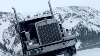 getlinkyoutube.com-Ice Road Truckers - Truck Stunt