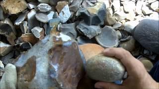 200 - 1/2 Spalling Chert (Flint) for Flintknapping