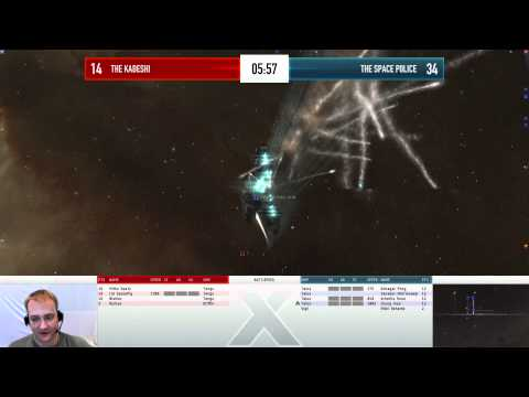 EVE Online - AT10 Day 1 - The Kadeshi vs THE SPACE P0LICE