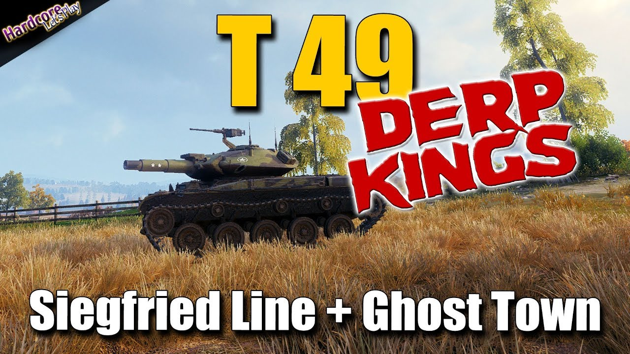 WOT  T49  Derp Kings  best World of Tanks recordings