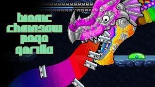 "getlinkyoutube.com-""RAINBOW RAZORS"" Bionic Chainsaw Pogo Gorilla - Flash Friday"