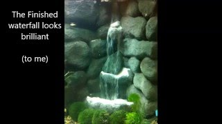 getlinkyoutube.com-3D Background with Sand Waterfall complete build, including mistakes and fixes.