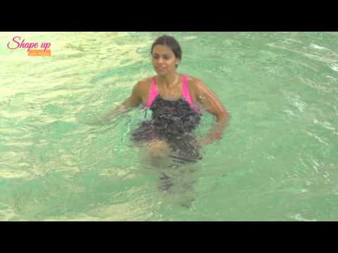Toned & fit legs with pool exercises & water workouts - Learn Aqua Aerobics Online
