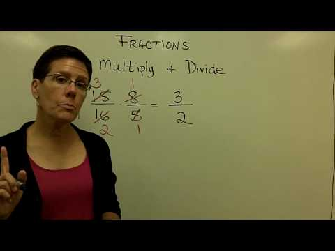 02 - Introductory Algebra - Multiply Divide Fractions
