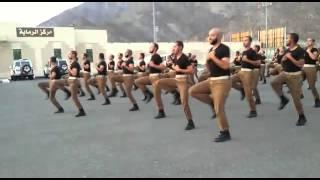تدريب الصاعقة بمدينة تدريب عسير الأمن العام 1436