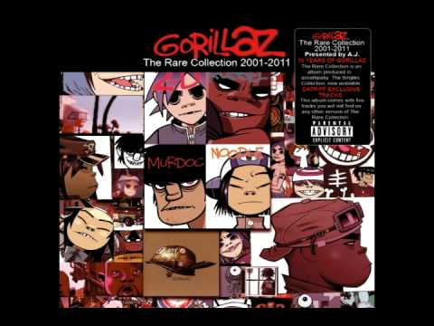 Gorillaz - The Singles Collection 2001 - 2011 (Full Album)