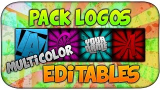 getlinkyoutube.com-PACK LOGOS Y FOTO DE PERFIL MULTICOLOR EDITABLES | By:ShaphiRa