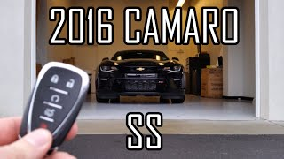 2016 Chevrolet Camaro SS: Start Up, Exhaust and Review
