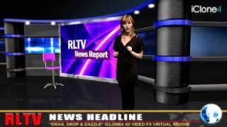 iClone4 Demo - Virtual Newsroom
