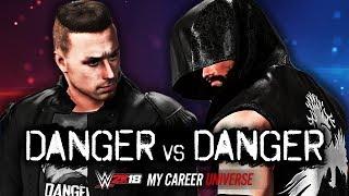 CHRIS DANGER vs MAX DANGER!!   WWE 2K18 My Career Universe Mode