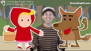 getlinkyoutube.com-Little Red Riding Hood Kids Story | Bedtime Stories | Children, Preschool, Learn English