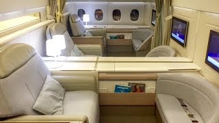 getlinkyoutube.com-Air France FIRST CLASS | New La Premiere Cabin