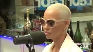 getlinkyoutube.com-AMBER ROSE Talks Tyga and Kylie Jenner and calls Kim Kardashian FAKE!!