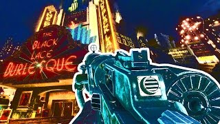 getlinkyoutube.com-MG08 & WAW GUNS IN SHADOWS OF EVIL Call of Duty Black Ops 3 Zombies Gameplay Mod