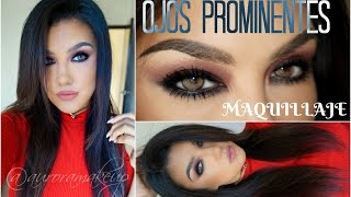 getlinkyoutube.com-OJOS PROMINENTES maquillaje ahumado/ PROMINENT eyes makeup tutorial   auroramakeup