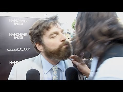 Zach Galifianakis - The Greek Kiss & Interview