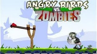 getlinkyoutube.com-Angrybirds Vs Zombies Ultimate War - Plants vs Zombies Game Remake