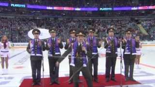 getlinkyoutube.com-Russian Army Choir - We Will Rock You (SKA hockey)