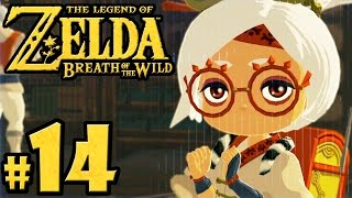 The Legend of Zelda Breath of the Wild PART 14 - Switch Gameplay Walkthrough - Hateno Village Purah