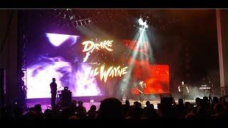 getlinkyoutube.com-Drake Vs Lil Wayne - PNC Arts Center, Holmdel NJ - (August 26th 2014)
