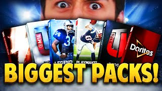 MADDEN 16 BIGGEST PACK OPENING EVER! INSANE FLASHBACK PULL!