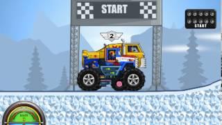 getlinkyoutube.com-Monsters' Wheels - Gameplay video