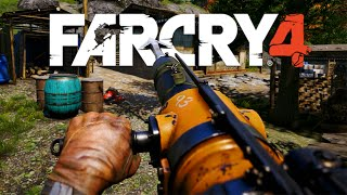 getlinkyoutube.com-Far Cry 4 - Harpoon Gun, Arma do OCO