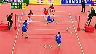 getlinkyoutube.com-Thailand - Myanmar SepakTakraw 27th SEA Games 2013