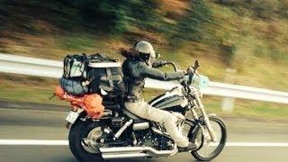 getlinkyoutube.com-レディースバイカーHarley-Davidson FXDWGワイドグライド