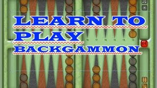 getlinkyoutube.com-How To Play BACKGAMMON!   Best Opening Moves!