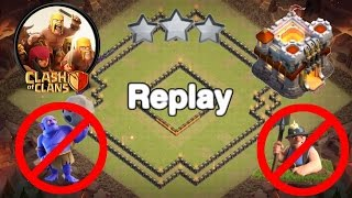 getlinkyoutube.com-Clash Of Clans - TH 11 War Base Anti Bowlers&Miners with Replays!