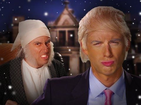 Donald Trump vs Ebeneezer Scrooge.  Epic Rap Battles of History Season 3.