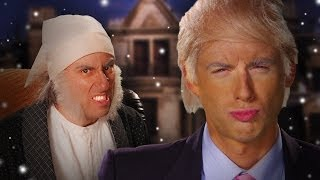 getlinkyoutube.com-Donald Trump vs Ebenezer Scrooge.  Epic Rap Battles of History Season 3.