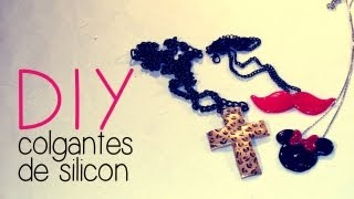 getlinkyoutube.com-DIY Collares de Silicon - Nancy