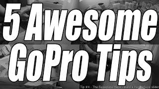 getlinkyoutube.com-5 AWESOME GOPRO TIPS - #1
