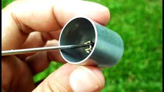 getlinkyoutube.com-Novo pistão frio para motor Stirling caseiro - New cold piston, Stirling engine