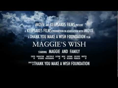Maggie's Wish (HD)- New iMovie iPad App - Trailer Demo