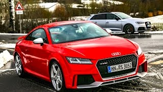 getlinkyoutube.com-2017 Audi TT RS vs. RS3 8V - RACE & SOUND (60FPS)