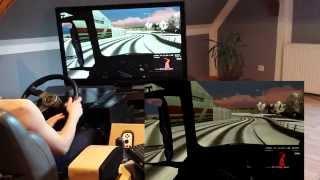 getlinkyoutube.com-Euro Truck Simulator 2  REAL SIMULATOR  ETS 2 G27 with MOMO 350mm wheel