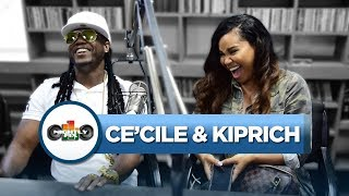 Ce'Cile & Kiprich talk new collab, crazy ex rumours + dancehall production needing improvement