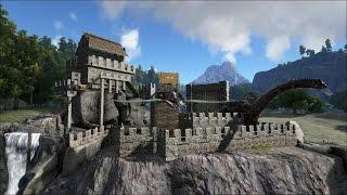 getlinkyoutube.com-#5 Ark: Survival Evolved. Mi Castillo terminado!!!
