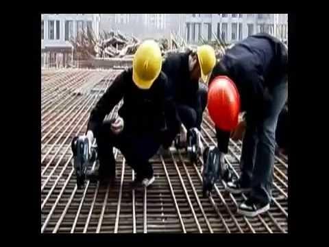 Máquina de Amarrar Vergalhões Ferragens - Construção Civil