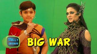 getlinkyoutube.com-Shweta Tiwari As Mahabhasmpari In BAAL VEER - SAB TV SHOW