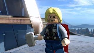 getlinkyoutube.com-LEGO Marvel's Avengers - Gameplay Demo @ E3 2015 @ HD ✔